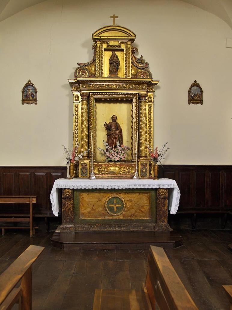 Iglesia parroquial de la Invención de la Santa Cruz (Maeztu / Maestu)