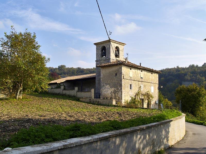 Iglesia parroquial de San Martín (Musitu)