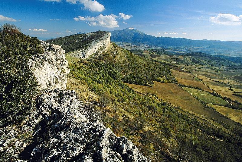 Parque natural Izki. Muela San Román. DFA